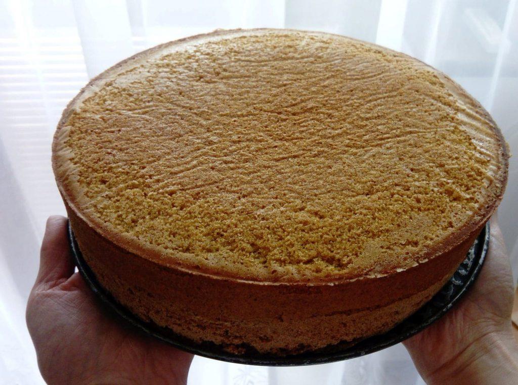 korpus bezlepkovej torty z pohánkovej múky