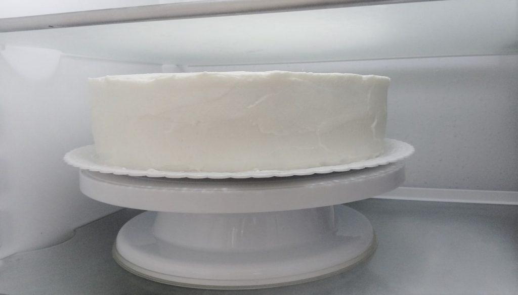 chladenie natretej torty v chladničke