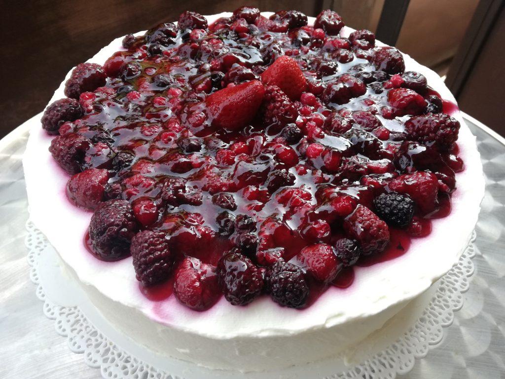 hotová bezlepková torta z pohánkovej múky