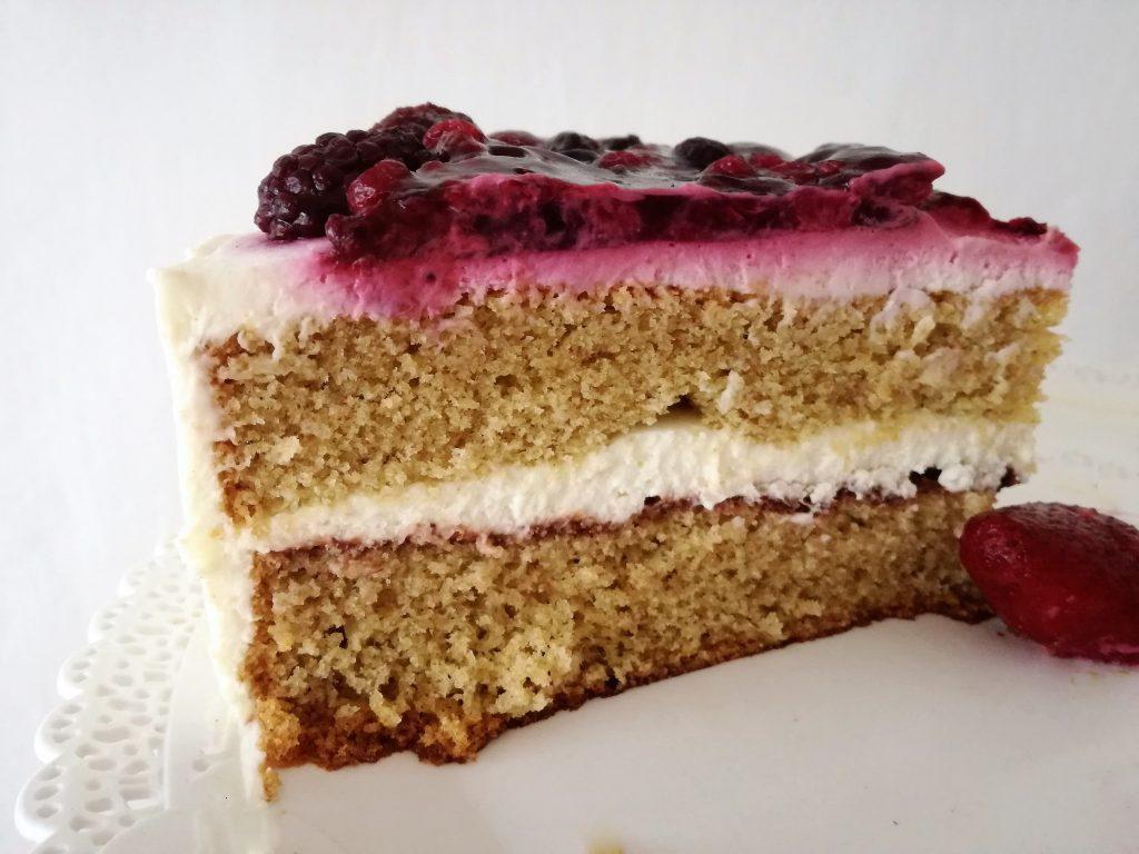 rez bezlepkovej torty