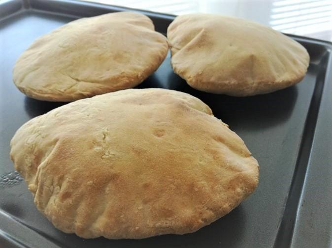 Domáca pita - arabský chlieb na kebab